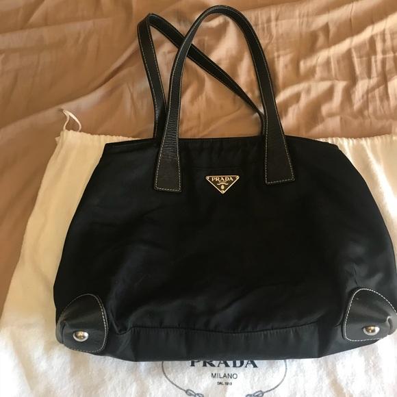 c8977836e3e7 Authentic Prada black purse. M_5b9569dffb3803425a91c9c8